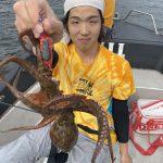 タックル調整したらタコが連発!千葉県東京湾でタコが釣れてます!