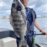 少し小さいけど黒鯛釣りが楽しめてます!タコ釣りでお土産も出来ますよ!