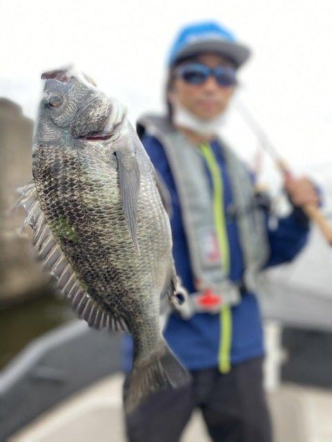 7/23 千葉県東京湾 クロダイ釣り