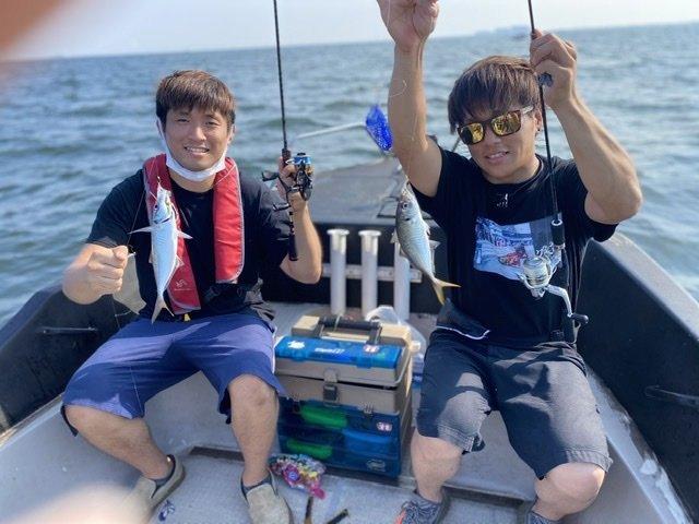 8/16 千葉県東京湾 アジ遠征便