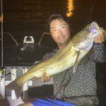 午後から夜にかけて、ぶっ通し便!シーバス、クロダイをはじめ多魚種が釣れました!