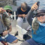 東京湾、クロダイ落とし込み釣りで出船!安定した釣果が出た1日でした!