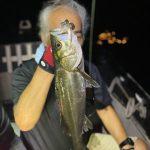 マッチザベイトでシーバスキャッチ!ルアーセレクトで釣果が伸びた夜釣りでした!