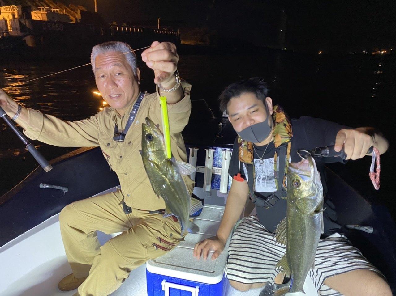 9/17 千葉県東京湾 ナイトボートシーバス ランカー