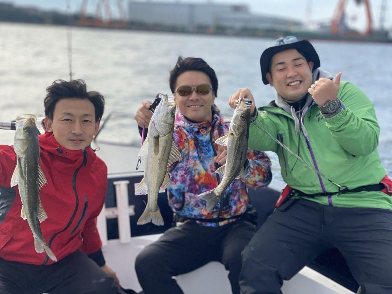 10/18 千葉県東京湾 ボートシーバス&サワラ