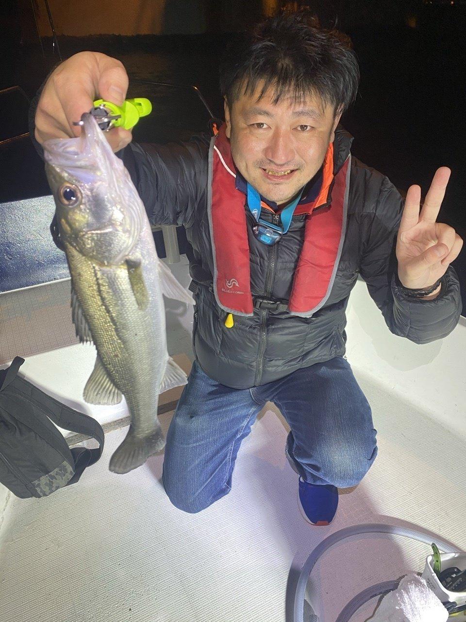 10/24 千葉県東京湾 ナイトボートシーバス