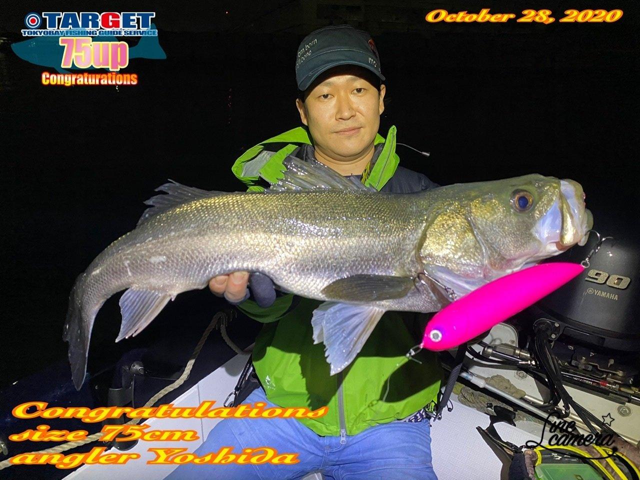 10/28 千葉県東京湾 ナイトボートシーバス