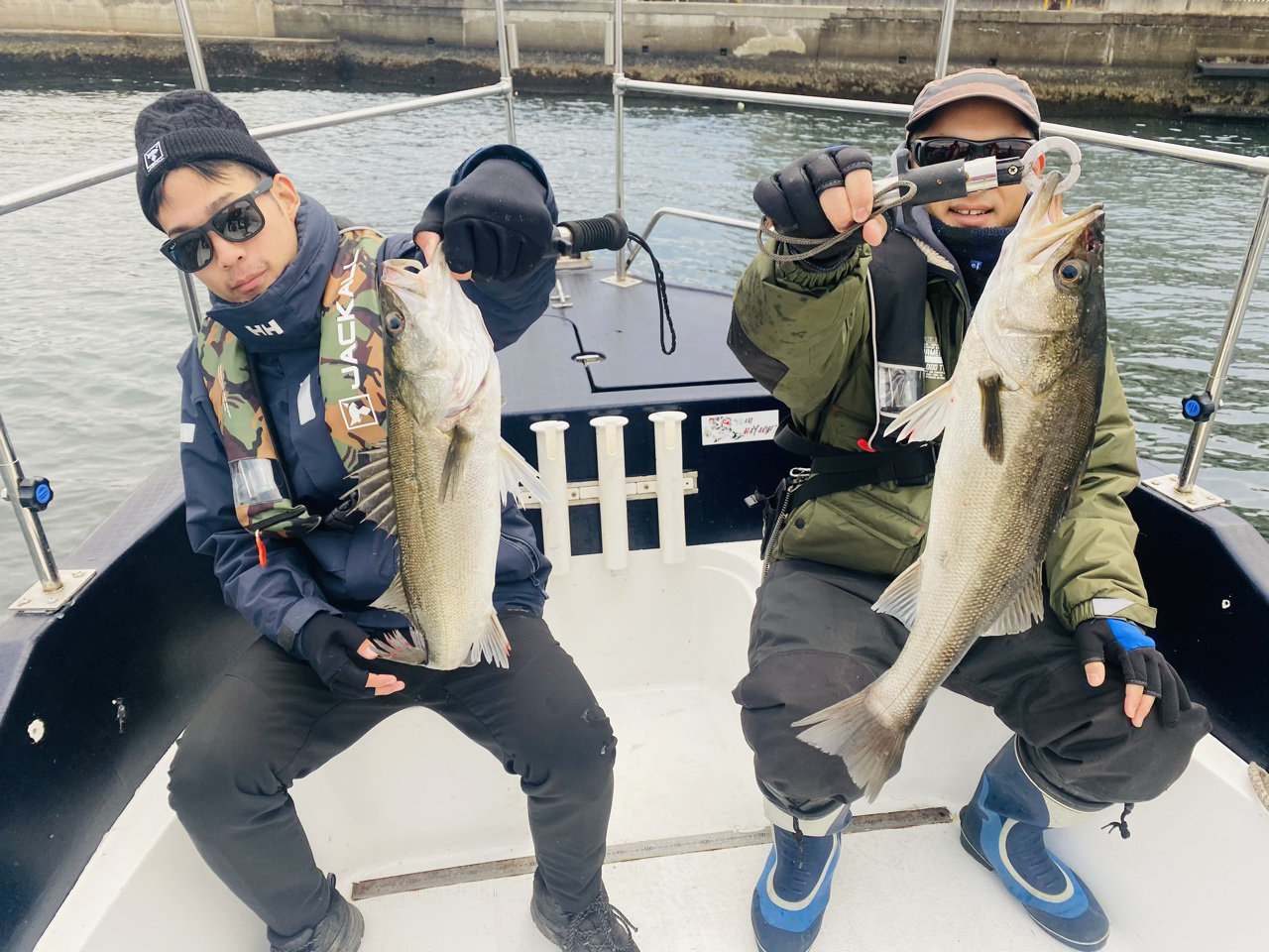 11/24 千葉県東京湾 ボートシーバス