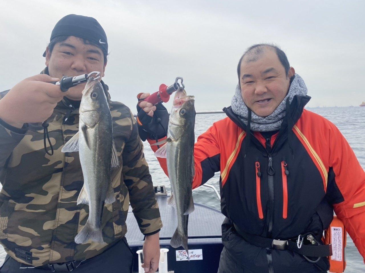 シーバスの数釣りでバラシ多数?!w2021年も、よろしくお願いします!