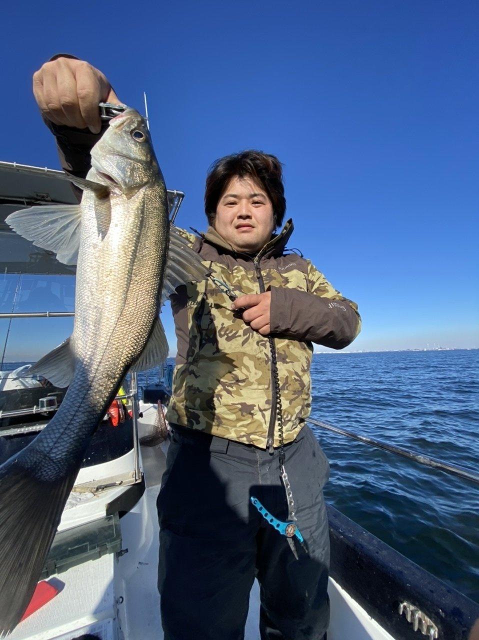 2021/1/2 千葉県東京湾 ボートシーバス アジ&サバ