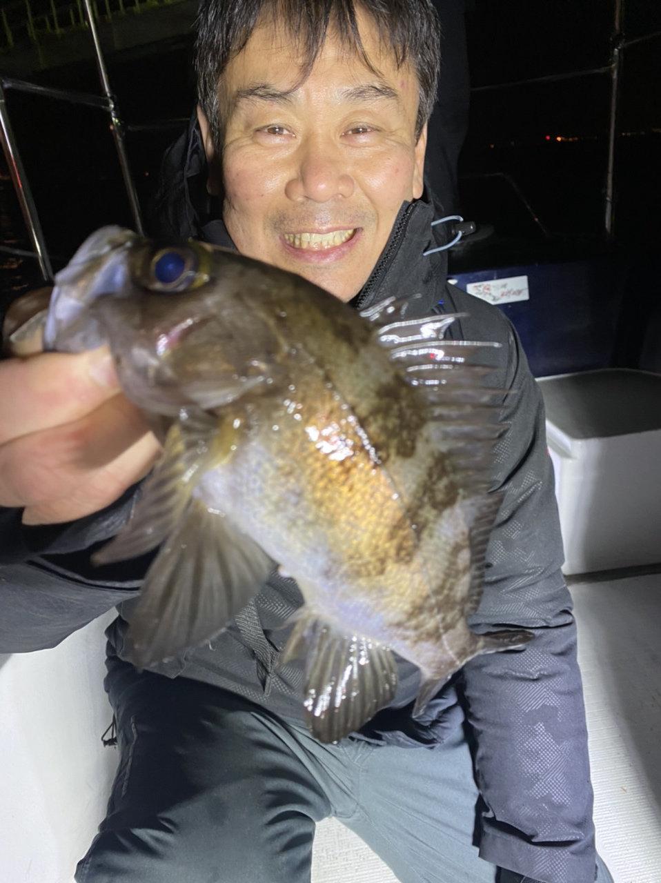 2021/1/4 千葉県東京湾 ボートシーバス&ロックフィッシュ