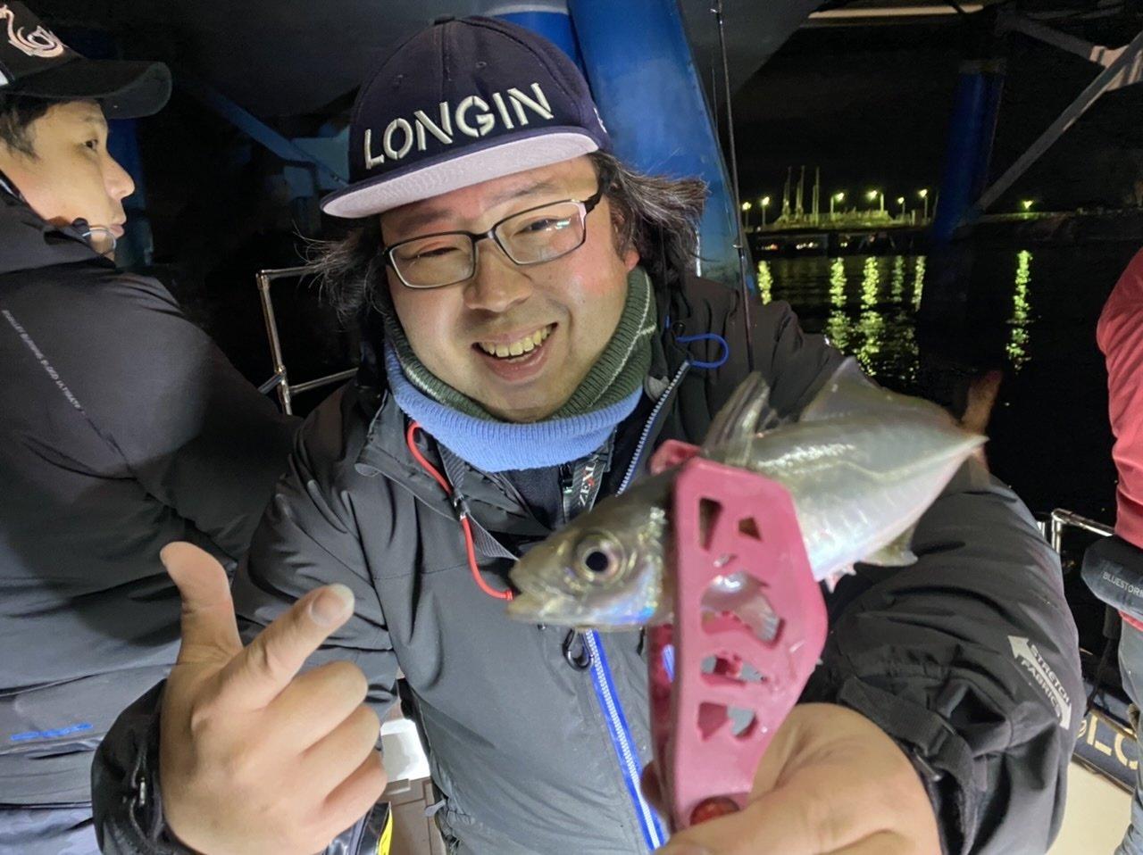 2021/1/13 千葉県東京湾 LONGIN アジング