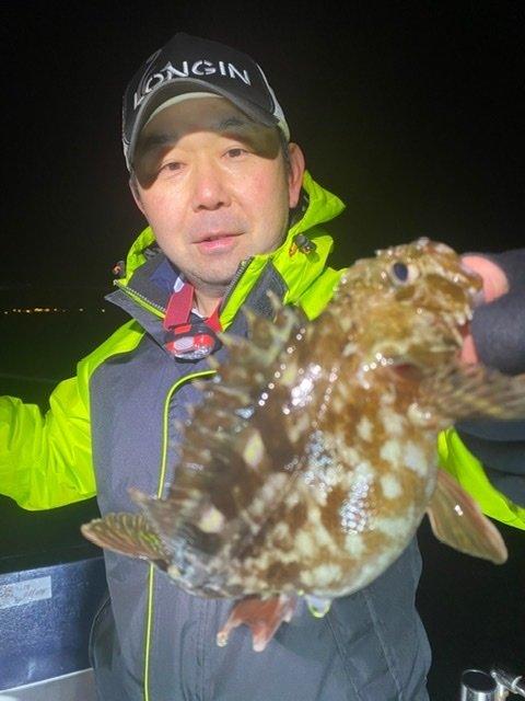 2021/1/20 千葉県東京湾 メバル&カサゴ