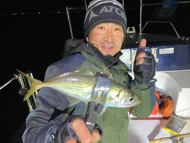 2021/1/30 千葉県東京湾 ボート メバリング