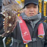 誰かしらが魚を釣ってる状態の入れ食い祭り!防寒対策お願いします!