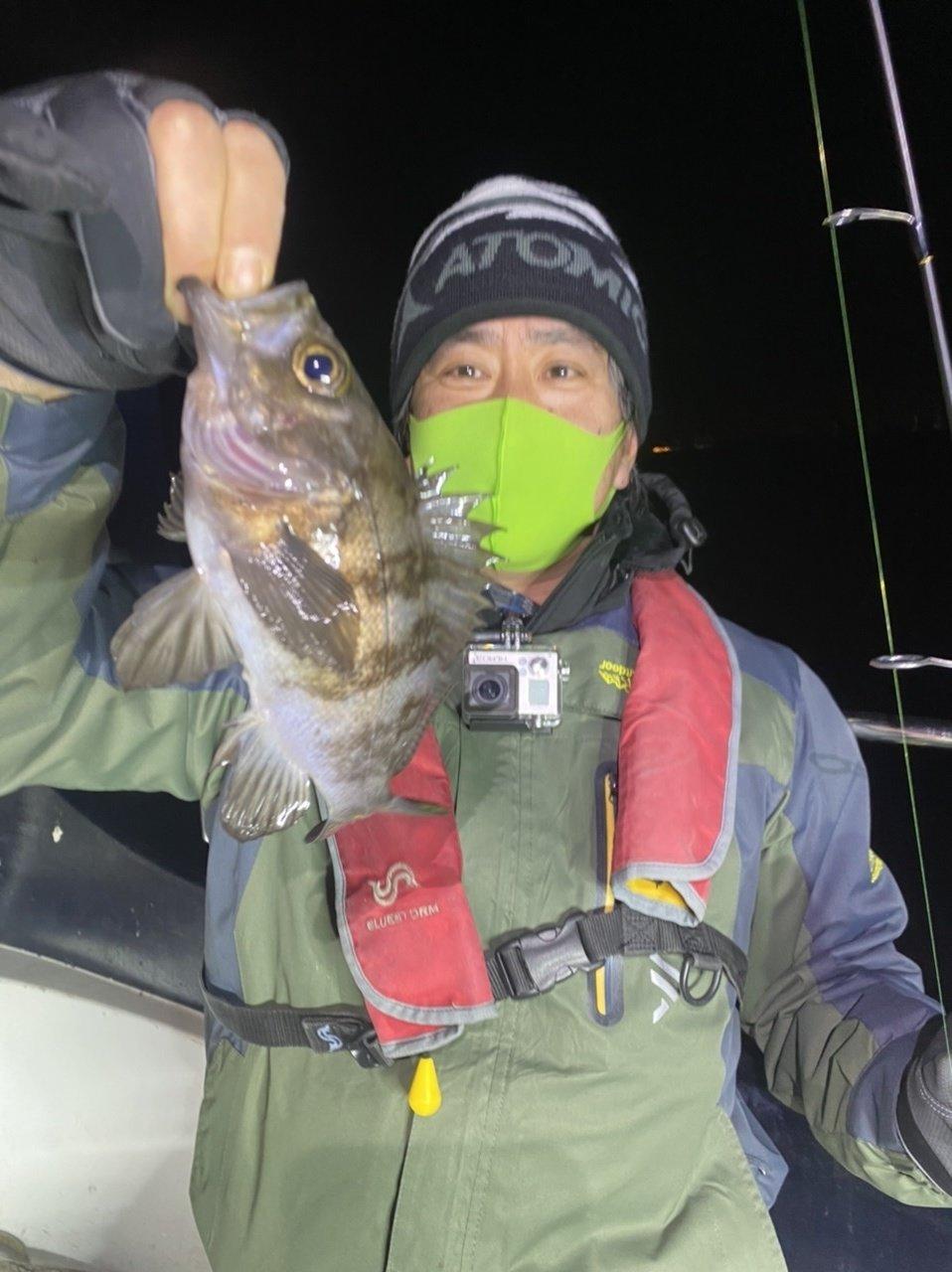2021/2/12 千葉県東京湾 ナイトロックフィッシュ