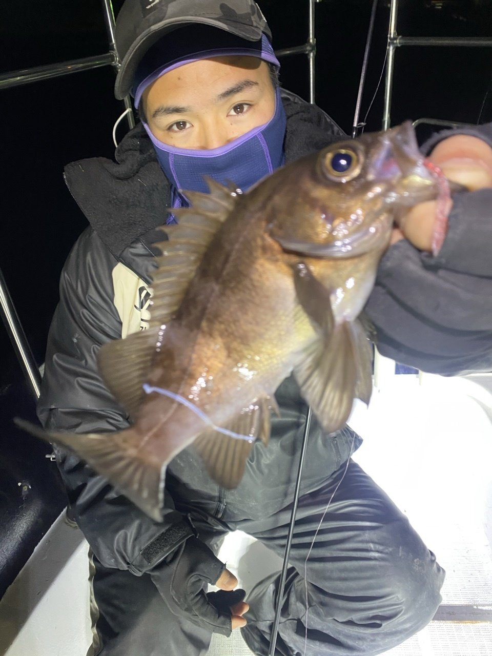 2021/2/18 千葉県東京湾 ナイト メバカサ