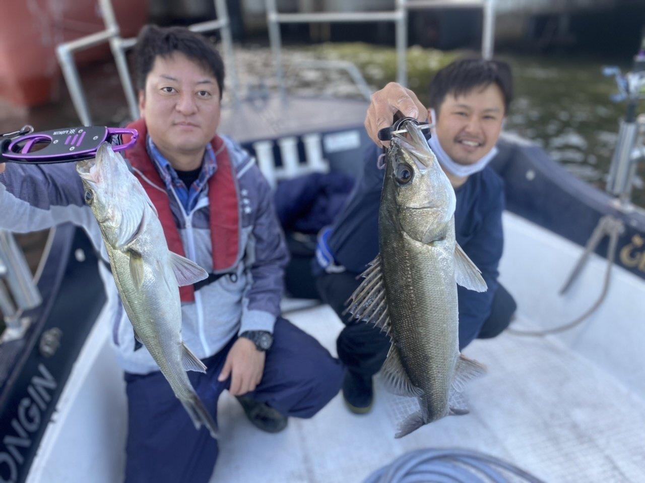 2021/4/30 千葉県東京湾 ナイトボートシーバス
