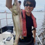 同級生のお客様みんなでシーバスフィッシング!楽しく釣りをしていただきましたー!
