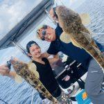 夏の東京湾でマゴチ釣り!ベイトはエビ・ハゼでした!