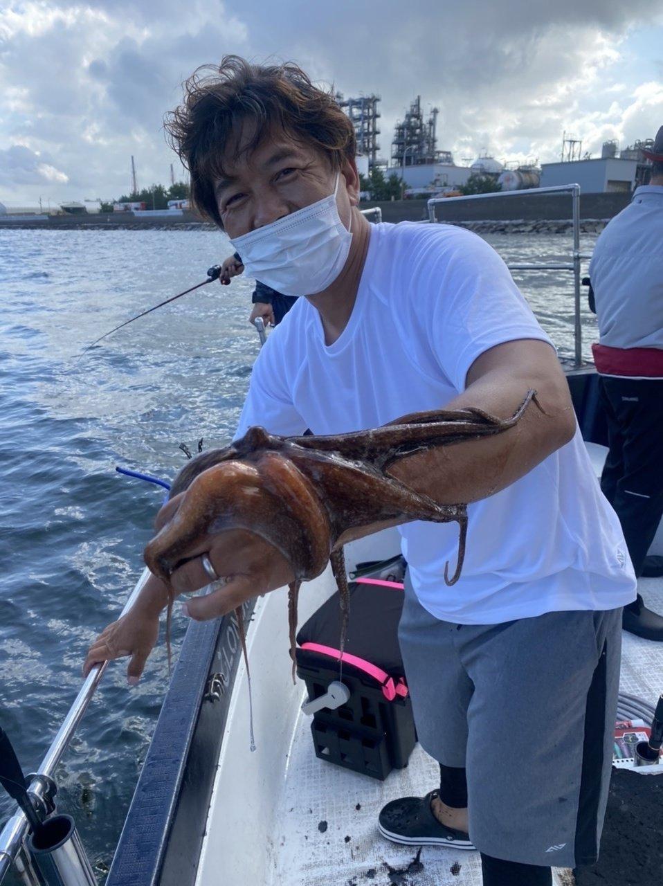 2021/7/18 千葉県東京湾 タコ釣り