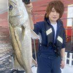 イケメン揃いの東京湾フィッシング!釣り初心者の方もシーバス釣っていただきました!