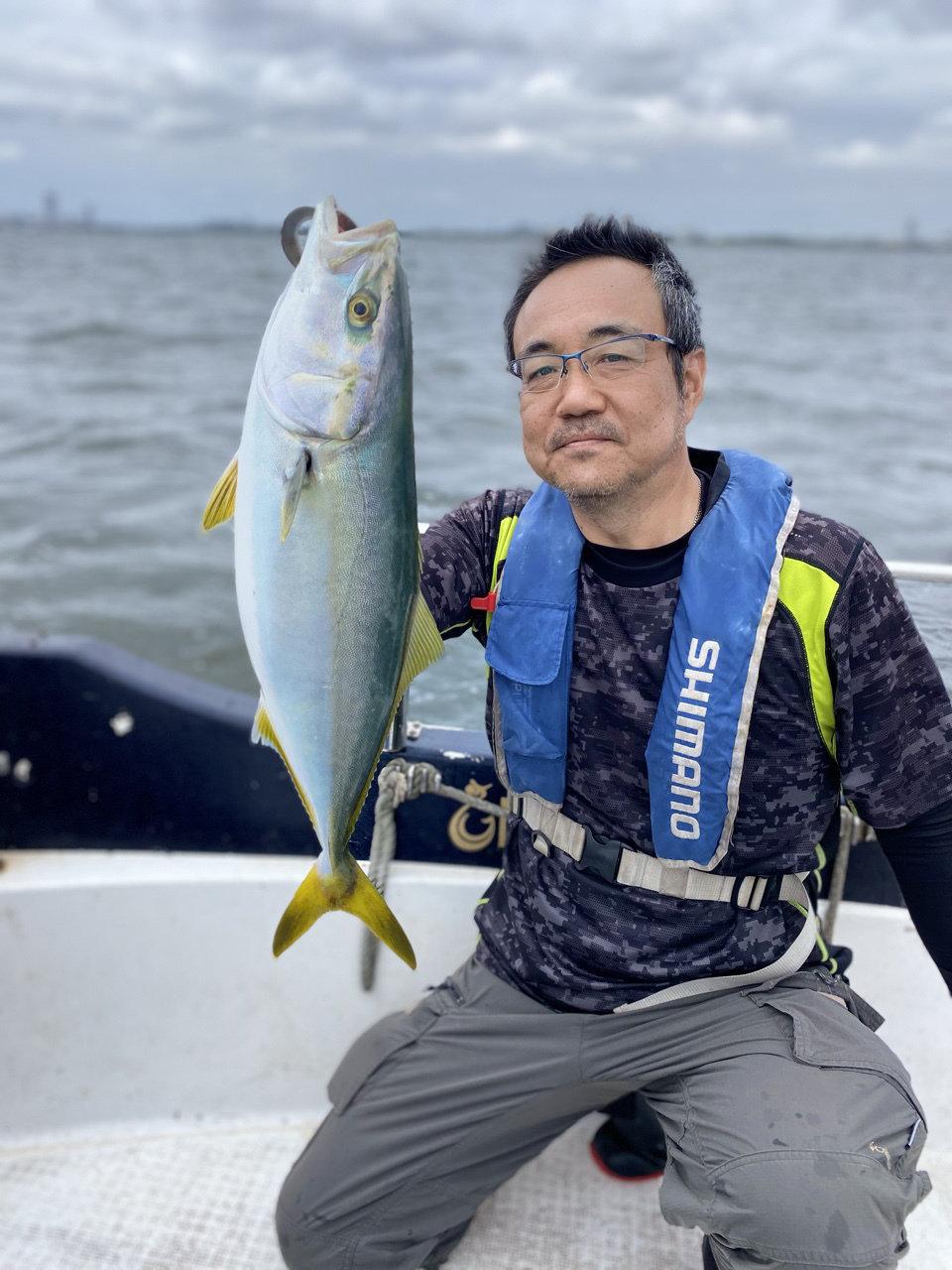 2021/9/25 千葉県東京湾 シーバス&イナダ