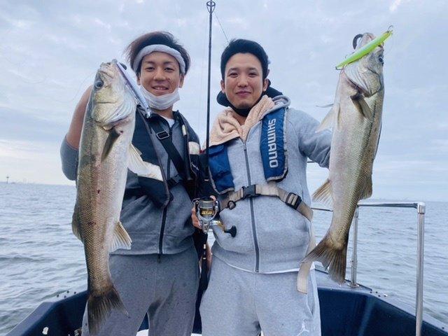 2021/9/26 千葉県東京湾 シーバス、イナダ、サワラ