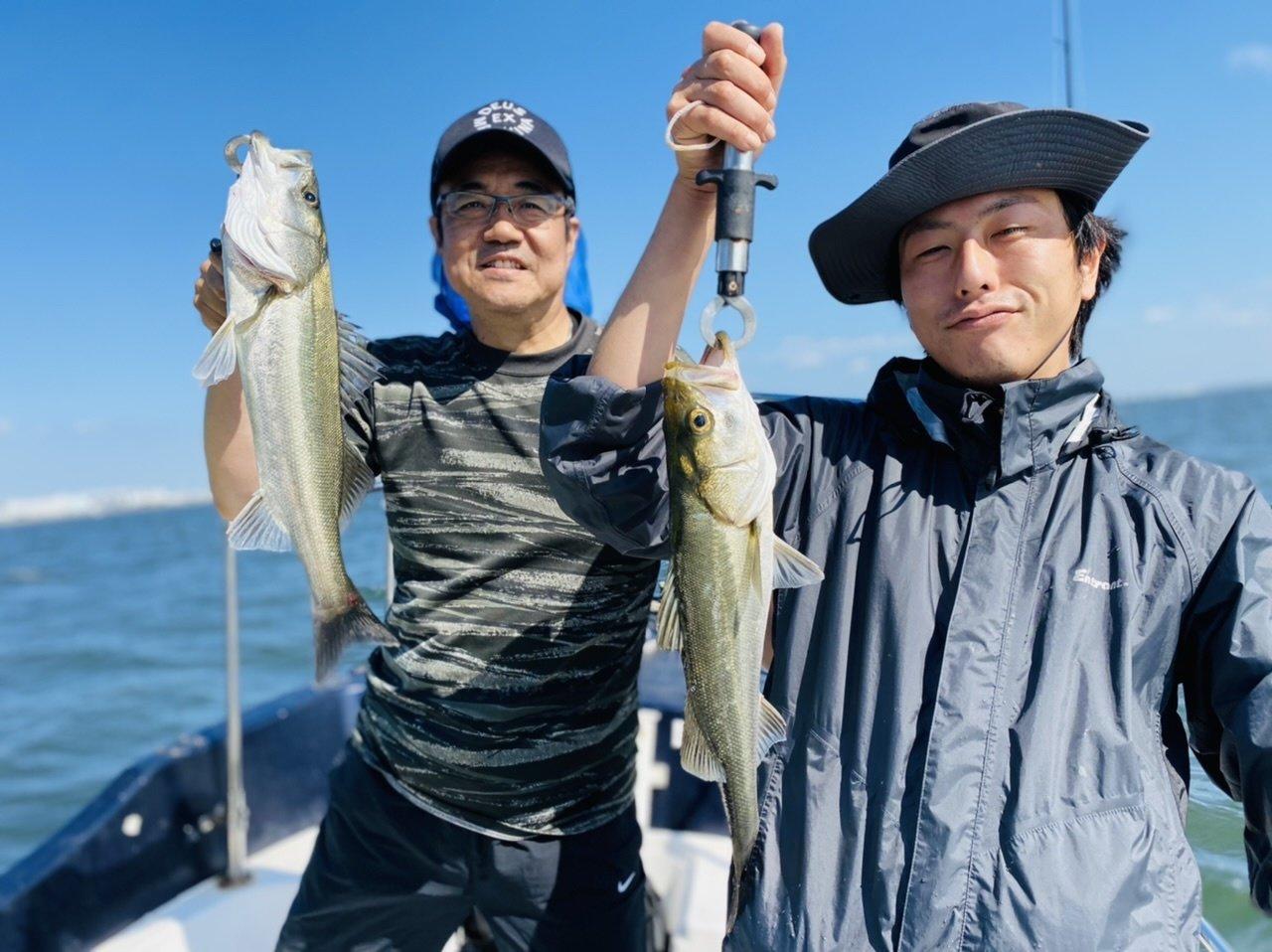 2021/10/2 千葉県東京湾 シーバス