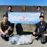 キャスティングさんの東京湾ビックベイトシーバス研修!最後には釣り場の清掃をみんなでしました!