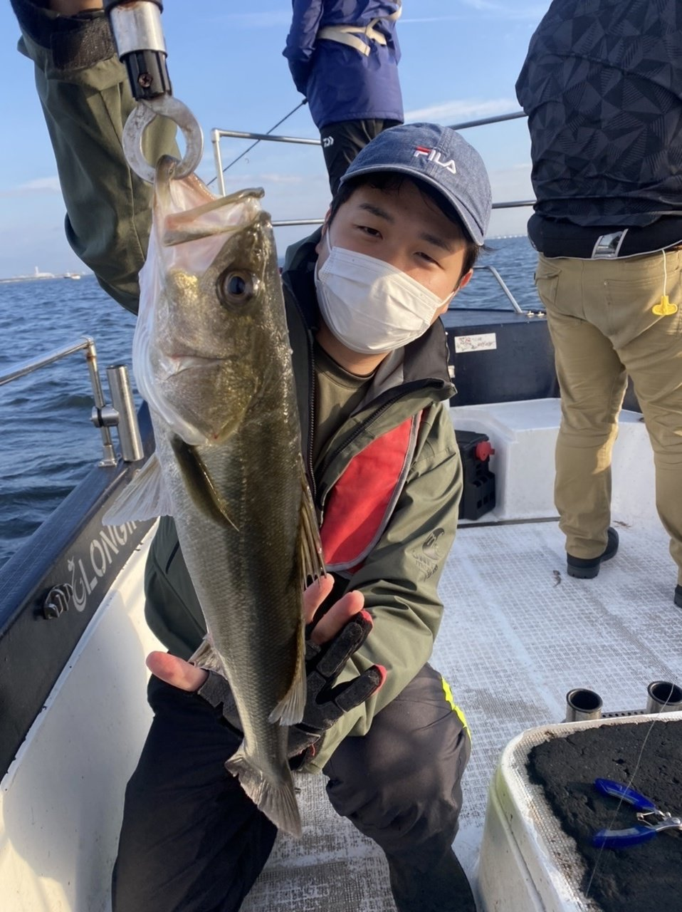 2021/10/9 千葉県東京湾 シーバス&イナダ