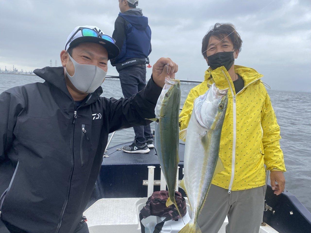 2021/10/12 千葉県東京湾 ボートルアー五目